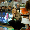 Florida Head Coach Amanda Butler during the Gators' 79-45 win against the Mississippi St. Bulldogs on Thursday, February 23, 2012 at the Stephen C. O'Connell Center in Gainesville, Fla. / Gator Country photo by Saj Guevara
