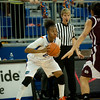 Florida sophomore guard Brittany Shine looking to pass during the Gators' 79-45 win against the Mississippi St. Bulldogs on Thursday, February 23, 2012 at the Stephen C. O'Connell Center in Gainesville, Fla. / Gator Country photo by Saj Guevara