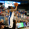 Florida senior guard Lanita Bartley shoots during the Gators' 79-45 win against the Mississippi St. Bulldogs on Thursday, February 23, 2012 at the Stephen C. O'Connell Center in Gainesville, Fla. / Gator Country photo by Saj Guevara