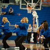 Dazlers showing off their dancing skills during the Gators' 79-45 win against the Mississippi St. Bulldogs on Thursday, February 23, 2012 at the Stephen C. O'Connell Center in Gainesville, Fla. / Gator Country photo by Saj Guevara