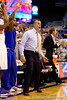 Florida head coach Billy Donovan looks on during the second half of the Gators' 79-61 win against the UAB Blazers on Tuesday at the Stephen C. O'Connell Center in Gainesville, Fla. / photo by Matt Pendleton