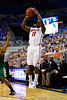 Florida senior guard Erving Walker shoots for three during the first half of the Gators' 79-61 win against the UAB Blazers on Tuesday at the Stephen C. O'Connell Center in Gainesville, Fla. / photo by Matt Pendleton