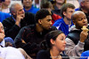 Khem Birch watches during the second half of the Gators' 79-61 win against the UAB Blazers on Tuesday at the Stephen C. O'Connell Center in Gainesville, Fla. / photo by Matt Pendleton