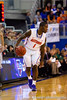 Florida junior guard Kenny Boynton dribbles the ball up the court during the second half of the Gators' 79-61 win against the UAB Blazers on Tuesday at the Stephen C. O'Connell Center in Gainesville, Fla. / photo by Matt Pendleton