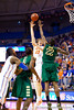 Florida junior forward Erik Murphy puts up a hook shot during the second half of the Gators' 79-61 win against the UAB Blazers on Tuesday at the Stephen C. O'Connell Center in Gainesville, Fla. / photo by Matt Pendleton