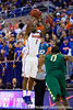 Florida junior guard Kenny Boynton lines up a shot during the second half of the Gators' 79-61 win against the UAB Blazers on Tuesday at the Stephen C. O'Connell Center in Gainesville, Fla. / photo by Matt Pendleton