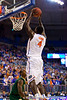 Florida sophomore center Patric Young slams in two points during the first half of the Gators' 79-61 win against the UAB Blazers on Tuesday at the Stephen C. O'Connell Center in Gainesville, Fla. / photo by Matt Pendleton