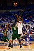 Florida junior guard Kenny Boynton shoots a long three-pointer during the first half of the Gators' 79-61 win against the UAB Blazers on Tuesday at the Stephen C. O'Connell Center in Gainesville, Fla. / photo by Matt Pendleton