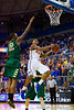 Florida freshman guard Bradley Beal makes a move to the hoop during the second half of the Gators' 79-61 win against the UAB Blazers on Tuesday at the Stephen C. O'Connell Center in Gainesville, Fla. / photo by Matt Pendleton
