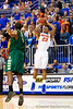 Florida freshman guard Bradley Beal shoots for three during the second half of the Gators' 79-61 win against the UAB Blazers on Tuesday at the Stephen C. O'Connell Center in Gainesville, Fla. / photo by Matt Pendleton