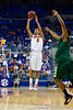 Florida sophomore guard Scottie Wilbekin shoots for three during the first half of the Gators' 79-61 win against the UAB Blazers on Tuesday at the Stephen C. O'Connell Center in Gainesville, Fla. / photo by Matt Pendleton