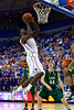 Florida sophomore center Patric Young shoots a layup during the second half of the Gators' 79-61 win against the UAB Blazers on Tuesday at the Stephen C. O'Connell Center in Gainesville, Fla. / photo by Matt Pendleton