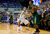 Florida sophomore guard Scottie Wilbekin presses on defense during the first half of the Gators' 79-61 win against the UAB Blazers on Tuesday at the Stephen C. O'Connell Center in Gainesville, Fla. / photo by Matt Pendleton