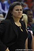 Belmont head coach Brittany Ezell during the Gators' 72-45 victory against the Belmont University Bruins on Tuesday, November 29, 2011 held at the Stephen C. O'Connell Center in Gainesville, Fla. / Gator Country photo by Rob Foldy
