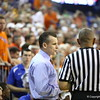 Billy Donovon during Florida's 69-52 win over Kentucky on February 12, 2013 at the Stephen C O'Connell Center in Gainesville, Florida. Pictures taken by Curtiss Bryant for Gatorcountry.com