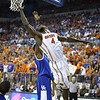 Patric Young during Florida's 69-52 win over Kentucky on February 12, 2013 at the Stephen C O'Connell Center in Gainesville, Florida. Pictures taken by Curtiss Bryant for Gatorcountry.com