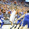 Mike Rosario during Florida's 69-52 win over Kentucky on February 12, 2013 at the Stephen C O'Connell Center in Gainesville, Florida. Pictures taken by Curtiss Bryant for Gatorcountry.com