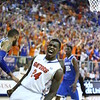Casey Prather celebrates during Florida's 69-52 win over Kentucky on February 12, 2013 at the Stephen C O'Connell Center in Gainesville, Florida. Pictures taken by Curtiss Bryant for Gatorcountry.com