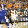 Michael Frazier during Florida's 69-52 win over Kentucky on February 12, 2013 at the Stephen C O'Connell Center in Gainesville, Florida. Pictures taken by Curtiss Bryant for Gatorcountry.com