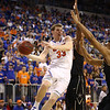 Erik Murphy looks to pass during Florida's 66-40 win over Vanderbilt on March 6, 2013 at the Stephen C O'Connell Center in Gainesville, Florida. Photos by Curtiss Bryant for Gatorcountry.com