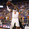 Will Yeguete during Florida's 66-40 win over Vanderbilt on March 6, 2013 at the Stephen C O'Connell Center in Gainesville, Florida. Photos by Curtiss Bryant for Gatorcountry.com