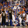 Patric Young tries to block the ball during Florida's 66-40 win over Vanderbilt on March 6, 2013 at the Stephen C O'Connell Center in Gainesville, Florida. Photos by Curtiss Bryant for Gatorcountry.com