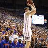 Erik Murphy during Florida's 66-40 win over Vanderbilt on March 6, 2013 at the Stephen C O'Connell Center in Gainesville, Florida. Photos by Curtiss Bryant for Gatorcountry.com