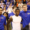 Mike Rosario, KEnny Boynton and Erik Murphy on senior night during Florida's 66-40 win over Vanderbilt on March 6, 2013 at the Stephen C O'Connell Center in Gainesville, Florida. Photos by Curtiss Bryant for Gatorcountry.com