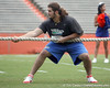 Florida redshirt junior tackle Matt Patchan competes in the tug of war during the Gator Charity Challenge event on Friday, July 29, 2011 at Ben Hill Griffin Stadium in Gainesville, Fla. / Gator Country photo by Tim Casey