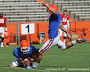 Florida senior kicker Caleb Sturgis attempts a field goal during the Gators' scrimmage on Monday, August 15, 2011 at Ben Hill Griffin Stadium in Gainesville, Fla. / photo courtesy of UF Communications