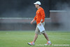Florida head coach Will Muschamp walks across the field during the Gators' football practice on Saturday, August 6, 2011 at Donald R. Dizney Stadium in Gainesville, Fla. / photo courtesy of UF Communications