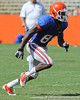 Florida redshirt junior receiver Frankie Hammond, Jr. runs a pass route during the Gators' scrimmage on Monday, August 15, 2011 at Ben Hill Griffin Stadium in Gainesville, Fla. / photo courtesy of UF Communications