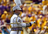 The drum major of the LSU Golden Band from Tiger Land before the Gators' 41-11 loss to the LSU Tigers on Saturday, October 8, 2011 at Tiger Stadium in Baton Rouge, La. / Gator Country photo by Rob Foldy