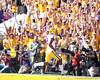 LSU receiver Rueben Randle scores on a 46-yard touchdown during the first quarter of the Gators' 41-11 loss to the LSU Tigers on Saturday, October 8, 2011 at Tiger Stadium in Baton Rouge, La. / Gator Country photo by Tim Casey