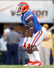Florida junior running back Mike Gillislee lines up for a kickoff during the fourth quarter of the Gators' 41-11 loss to the LSU Tigers on Saturday, October 8, 2011 at Tiger Stadium in Baton Rouge, La. / Gator Country photo by Tim Casey