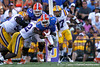 Florida redshirt senior running back Chris Rainey runs for a four-yard gain during the third quarter of the Gators' 41-11 loss to the LSU Tigers on Saturday, October 8, 2011 at Tiger Stadium in Baton Rouge, La. / Gator Country photo by Tim Casey