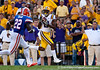 LSU wide receiver Rueben Randle during the Gators' 41-11 loss to the LSU Tigers on Saturday, October 8, 2011 at Tiger Stadium in Baton Rouge, La. / Gator Country photo by Rob Foldy