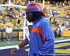 Florida sophomore linebacker/defensive end Ronald Powell returns to the locker room after the Gators' 41-11 loss to the LSU Tigers on Saturday, October 8, 2011 at Tiger Stadium in Baton Rouge, La. / Gator Country photo by Tim Casey