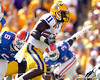 LSU running back Spencer Ware runs two yards for a touchdown during the first quarter of the Gators' 41-11 loss to the LSU Tigers on Saturday, October 8, 2011 at Tiger Stadium in Baton Rouge, La. / Gator Country photo by Tim Casey