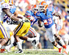 Florida redshirt senior running back Chris Rainey runs with the ball during the second quarter of the Gators' 41-11 loss to the LSU Tigers on Saturday, October 8, 2011 at Tiger Stadium in Baton Rouge, La. / Gator Country photo by Tim Casey