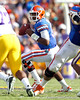 Florida freshman quarterback Jacoby Brissett looks to pass during the second quarter of the Gators' 41-11 loss to the LSU Tigers on Saturday, October 8, 2011 at Tiger Stadium in Baton Rouge, La. / Gator Country photo by Tim Casey