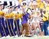 Mike the Tiger and the LSU band perform before the Gators' 41-11 loss to the LSU Tigers on Saturday, October 8, 2011 at Tiger Stadium in Baton Rouge, La. / Gator Country photo by Tim Casey