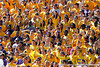 LSU students cheer during the first quarter of the Gators' 41-11 loss to the LSU Tigers on Saturday, October 8, 2011 at Tiger Stadium in Baton Rouge, La. / Gator Country photo by Tim Casey