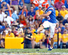 Florida redshirt junior kicker Caleb Sturgis kicks off during the second quarter of the Gators' 41-11 loss to the LSU Tigers on Saturday, October 8, 2011 at Tiger Stadium in Baton Rouge, La. / Gator Country photo by Tim Casey