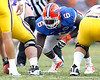 Florida redshirt senior defensive tackle Jaye Howard lines up during the third quarter of the Gators' 41-11 loss to the LSU Tigers on Saturday, October 8, 2011 at Tiger Stadium in Baton Rouge, La. / Gator Country photo by Tim Casey