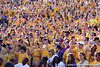 LSU fans cheer during the third quarter of the Gators' 41-11 loss to the LSU Tigers on Saturday, October 8, 2011 at Tiger Stadium in Baton Rouge, La. / Gator Country photo by Tim Casey