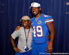 Florida sophomore linebacker Darrin Kitchens poses for a photo during the Gators' annual Fan Day event on Saturday, August 20, 2011 at the Stephen C. O'Connell Center in Gainesville, Fla. / Gator Country photo by Tim Casey