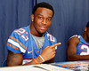 Florida junior running back Mike Gillislee poses for a photo during the Gators' annual Fan Day event on Saturday, August 20, 2011 at the Stephen C. O'Connell Center in Gainesville, Fla. / Gator Country photo by Tim Casey