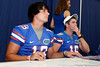 Florida sophomore quarterback Ryan Parrish signs an autograph during the Gators' annual Fan Day event on Saturday, August 20, 2011 at the Stephen C. O'Connell Center in Gainesville, Fla. / Gator Country photo by Tim Casey