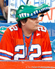 A Florida fan watches warmups before the Gators' 38-10 loss to the Alabama Crimson Tide on Saturday, October 1, 2011 at Ben Hill Griffin Stadium in Gainesville, Fla. / Gator Country photo by Tim Casey
